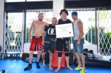 Dan Gets His Second Degree Black Belt