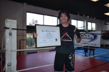 Dan Hare Black Belt