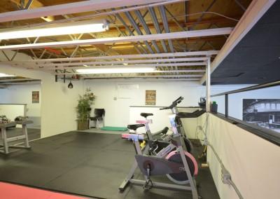 Upstairs Training Area