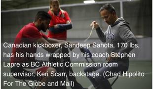 Sandeep and Stephen